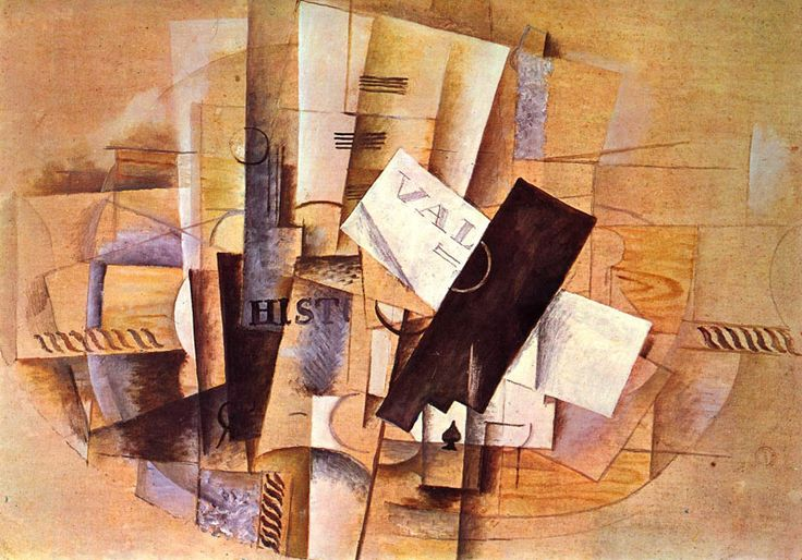 Georges Braque - The Musician's Table