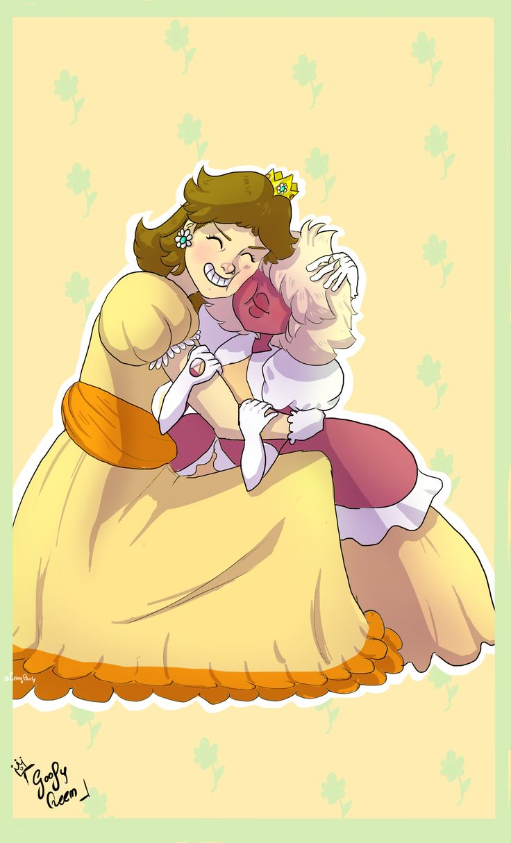 People talking about how...-reads a blurry word on her hand- Peppapaya looks like Peach, when actually she's Daisy,duh! I really needed to draw this tho :3  Facebook:https://www.facebook.com/cryingbooty/?ref=aymt_homepage_panel  #Princess #daisy #Padparadscha