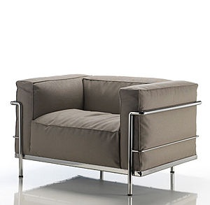 Bauhaus Design Sessel LC3 OUTDOOR by Le Corbusier, Jeanneret, Perriand ...