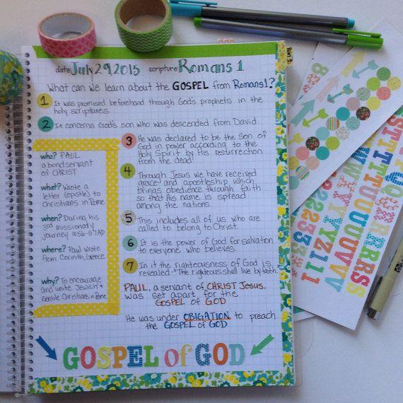 Bible Journal / Prayer Journal DELUXE KIT by FarmGirlJournals