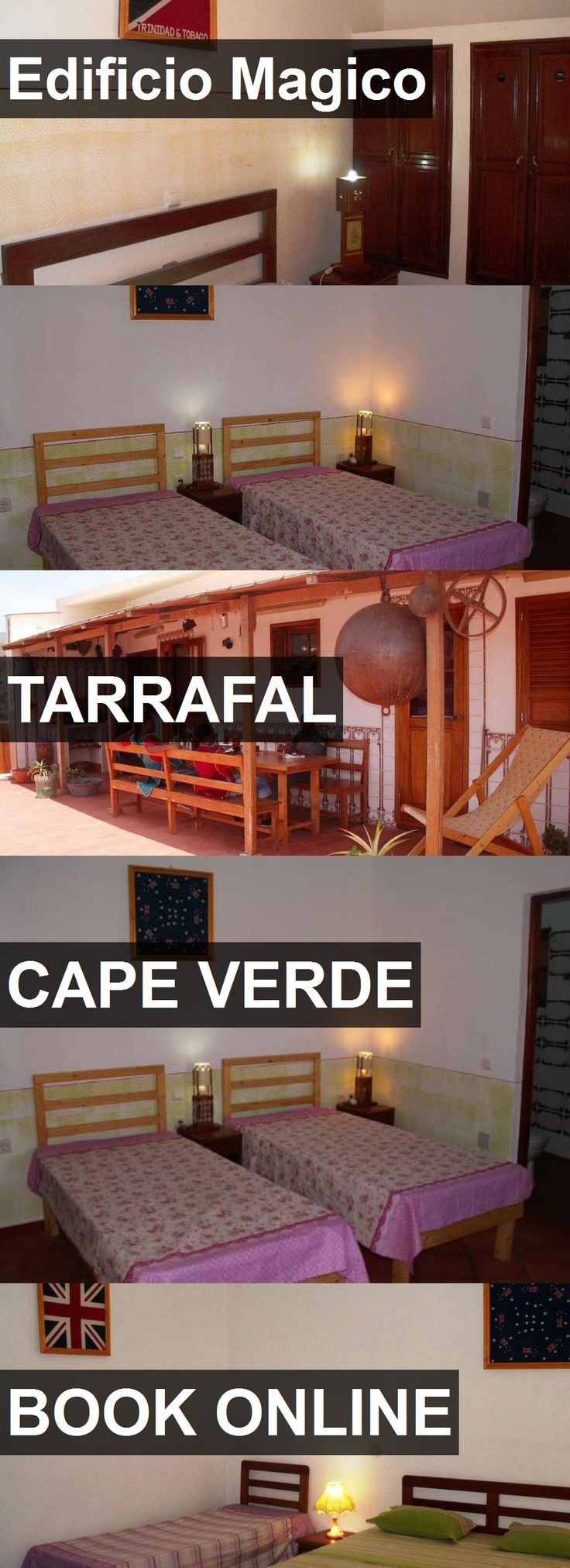 Hotel Edificio Magico in Tarrafal, Cape Verde. For more information, photos, reviews and best prices please follow the link. #CapeVerde #Tarrafal #travel #vacation #hotel