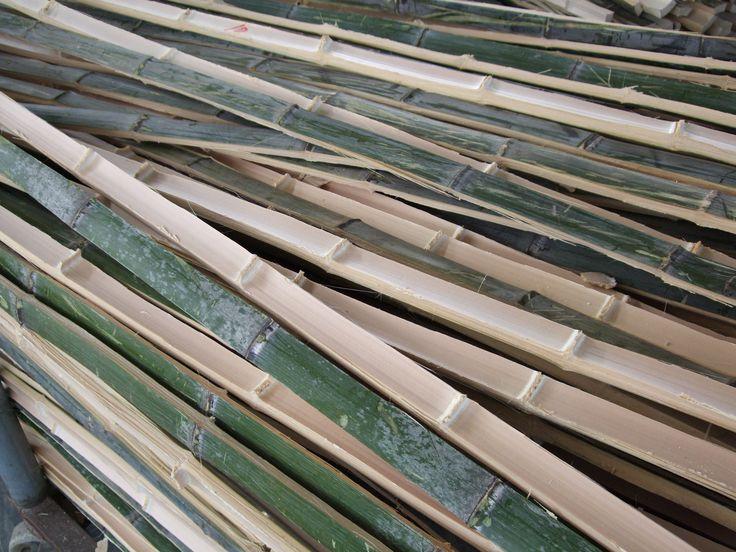 Bambus strips. Copyright: Keflico A/S.