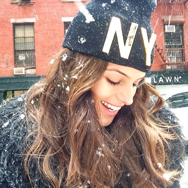 Let It Snow!!! Deixe Nevar!!! #happy #moments #nyc #snow #playwithit #winter #fun #perfectday #nystyle #goodvibes