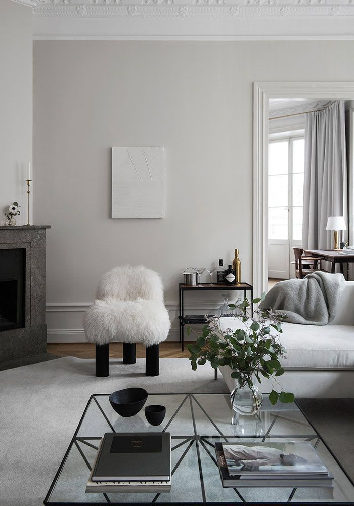 simple black and white room | Scandinavian Interiors | Déco ...