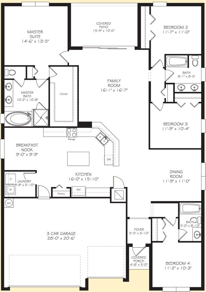 Lennar homes kennedy floor plan lennar home ideas for Model house design with floor plan