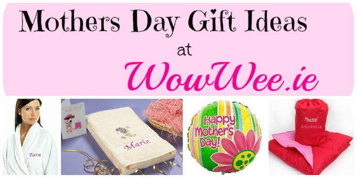Mothers Day Gift Ideas at WowWee.ie http://www.wowwee.ie/Mothers-Day-Gifts-s/105.htm