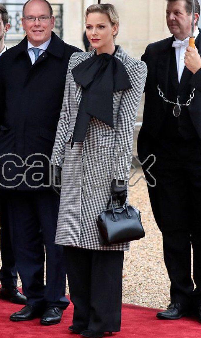 11 11 2018 Prins Albert En Prinses Charlene Royal