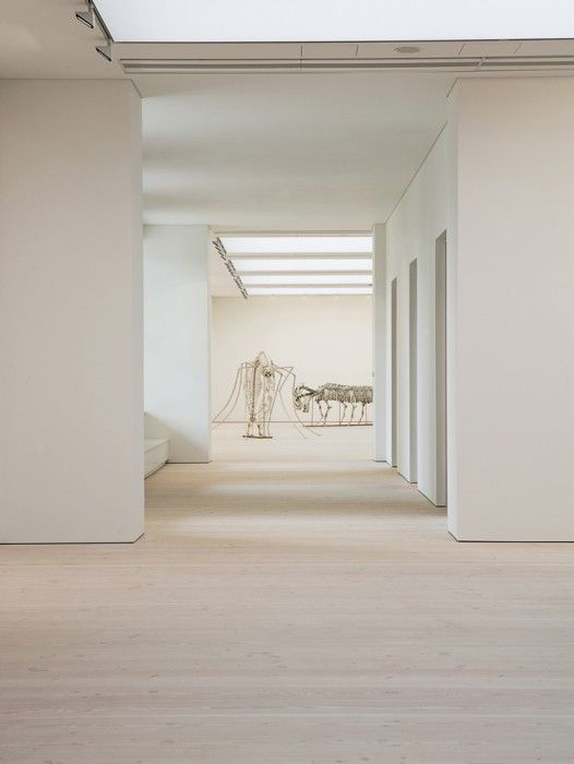 """Since 2008, Dinesen has been a """"Founding Patron of Saatchi Gallery"""", as the impressive gallery near Sloane Square got new Douglas wooden floors from Dinesen."""