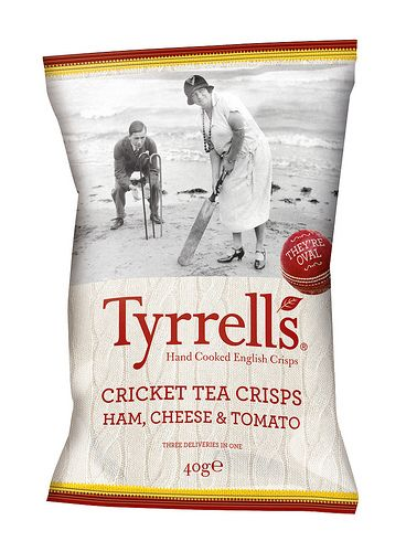 Tyrrells Cricket Tea Crisps