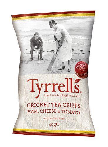 Tyrrells Cricket Tea Crisps