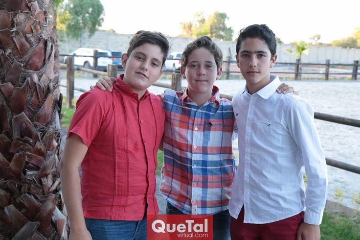 Los primos, Javier Alcalde, Jacobo Payán y Ro Silva.