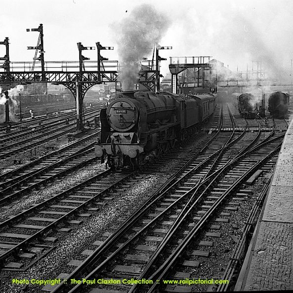 The Paul Claxton Collection. 46108 Seaforth Highlander - Glasgow / Liverpool at Preston - May 1961