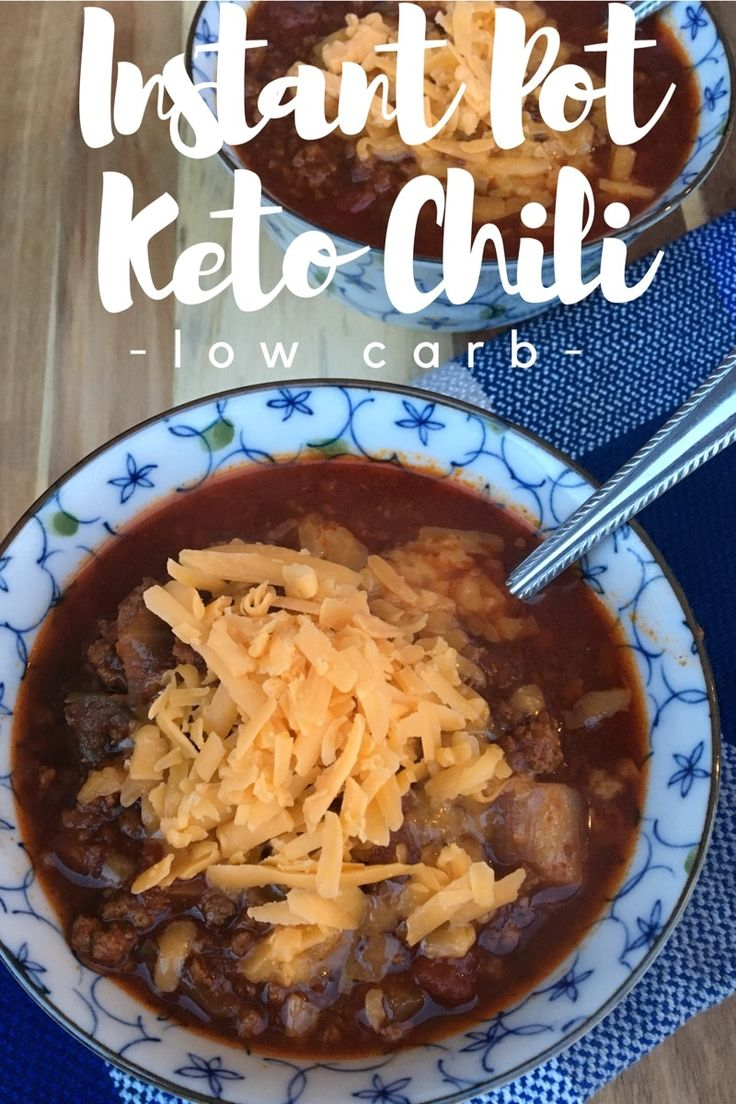 """TweetEmail TweetEmail Share the post """"Instant Pot Keto/Low Carb Chili Recipe"""" FacebookPinterestTwitterEmail I am starting to enjoy my Instant Pot especially for recipes like chili that I typically simmer on the stove for several hours. The Instant Pot gives me the option of a yummy home cooked meal in a fraction of the time itcontinue reading..."""