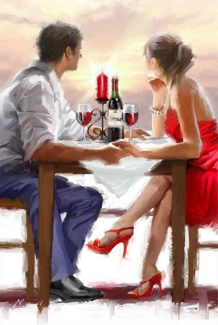 Pôr do Sol dos Namorados