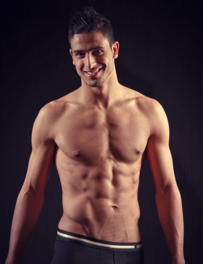 Meet Nacer Chadli - Belgian Soccer Player/Underwear Model ...