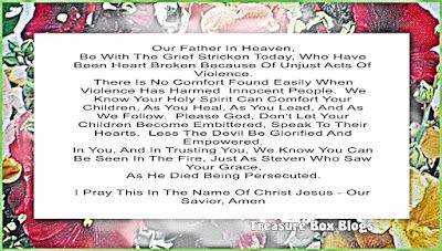 Christian Images In My Treasure Box: Prayer For The Grief Stricken