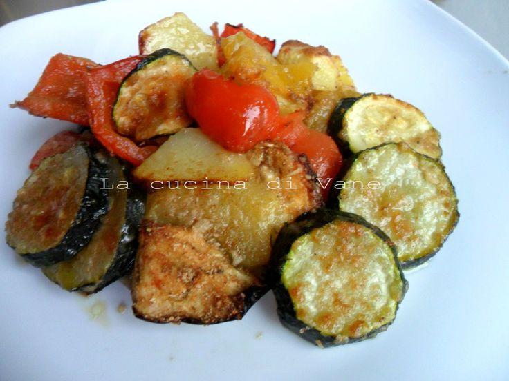 Verdure al forno saporite