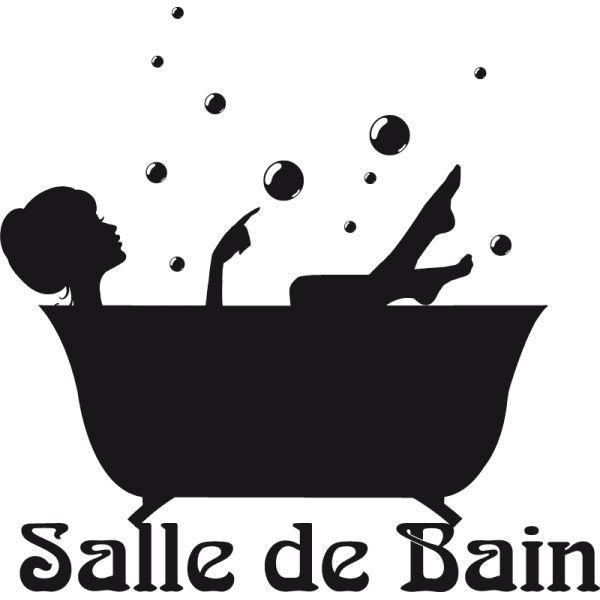les 25 meilleures idées de la catégorie stickers salle de bain sur ... - Dessiner Ma Salle De Bain