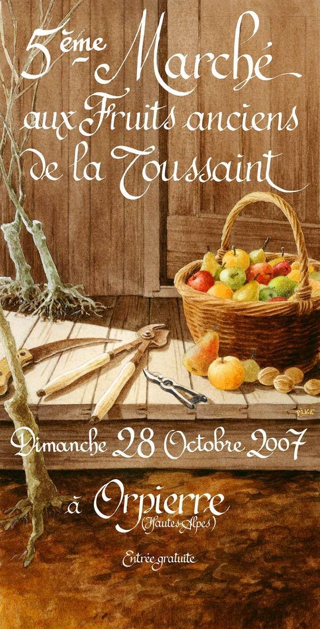 Orpierre 28 Octobre 2007 #orpierre #produitslocaux #baronnies