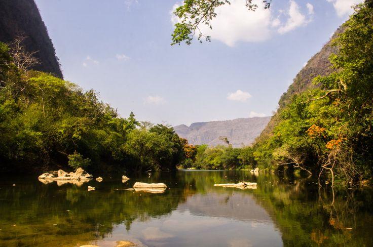 River near Tha Khaek, Laos