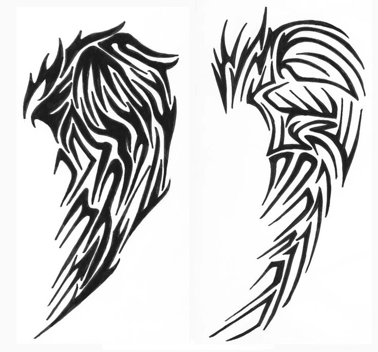 tribal wings 2 by vexed-jesus.deviantart.com on @DeviantArt