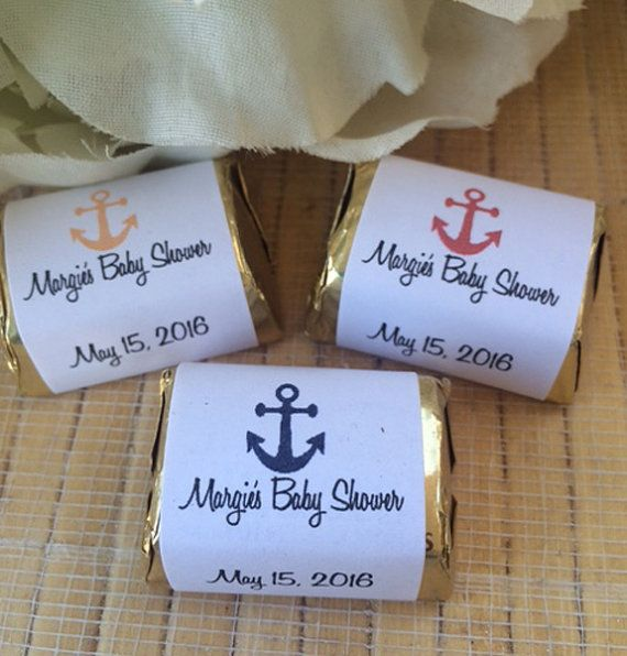 Baby Shower Favors. nautical baby shower favors anchor baby