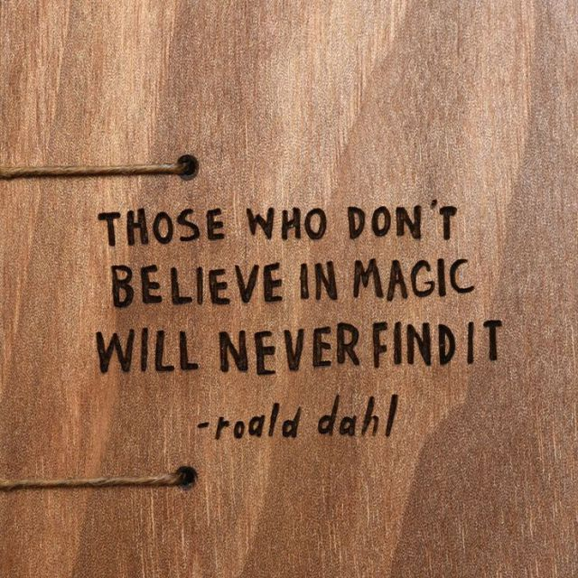 Inspirational Quote: Roald Dahl  Coptic Journal
