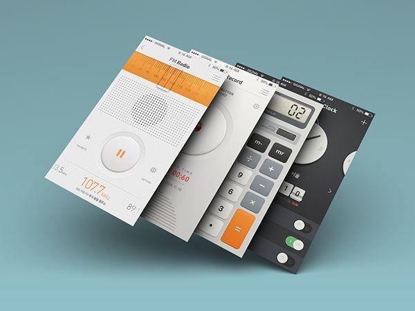 [UI/UX design] Native application design on Behance