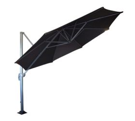 Roma Cantilever Revolving Umbrella.  Available in different sizes and colours.
