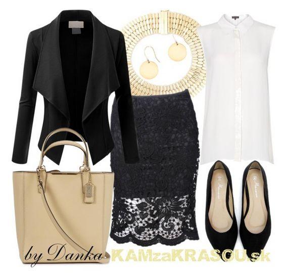 Aj v jednoduchosti je krása - KAMzaKRÁSOU.sk #clothestowork #blackandwhite #fashion
