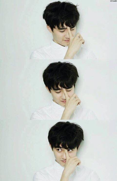 D.O being aegyo as fuck