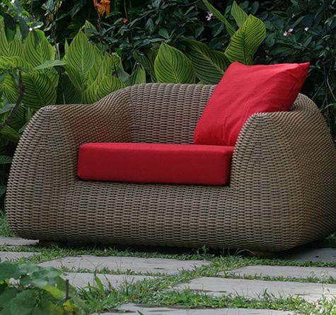 Lounge sessel rattan rund  Die besten 20+ Gartensofa rattan Ideen auf Pinterest | Rattan ...