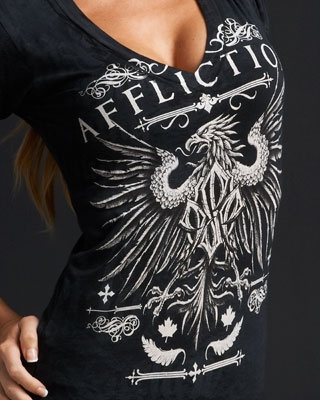 Affliction ….. Affliction pays us 9.2% cash back. Sign up for FREE at www.dubshopping.com