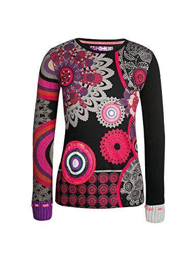 Desigual Arizona - T-shirt - Imprimé - Fille - Noir (Negro) - FR: 4 ans (Taille fabricant: 3/4) Desigual http://www.amazon.fr/dp/B00VK0EVGI/ref=cm_sw_r_pi_dp_D4C9vb1DV290T