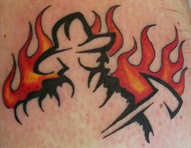 Firefighter Tattoo. Check out that cool T-Shirt here: https://www.sunfrog.com/I-love-my-firefighter-Black-Ladies.html?53507