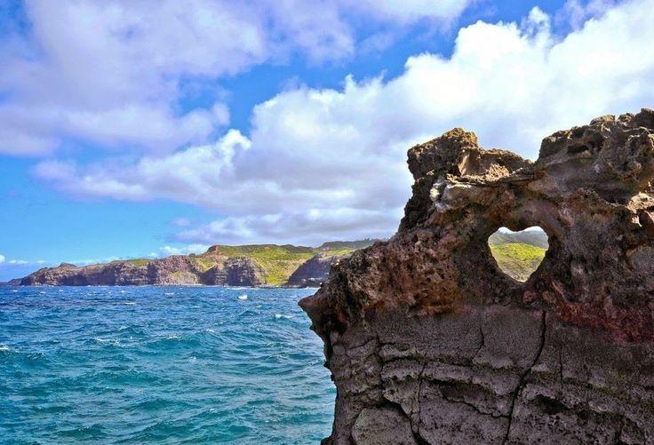 Costa norte do Maui, Havaí        Foto:Michael Filippoff