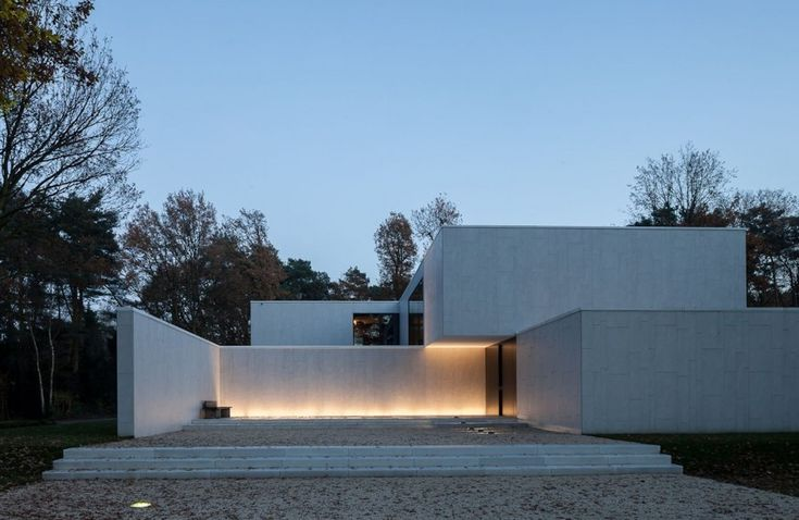 CUBYC #Architects have designed the DM Residence in Keerbergen, Belgium.