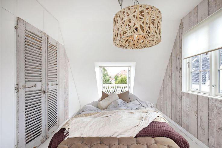 Villa på Oxford Allé i København S - Soveværelse