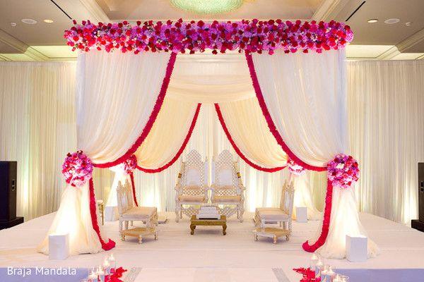 simple and elegant mandap design