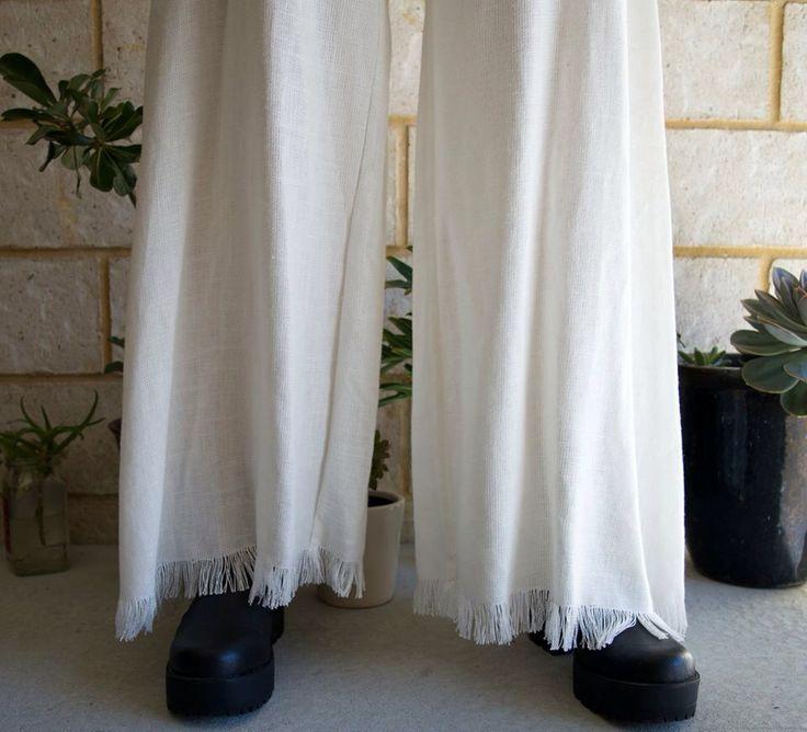 ORGANICA_ Linen Blend Pants