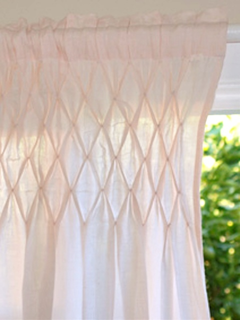 Sheer Pink Curtains Yes Please To The Gathering