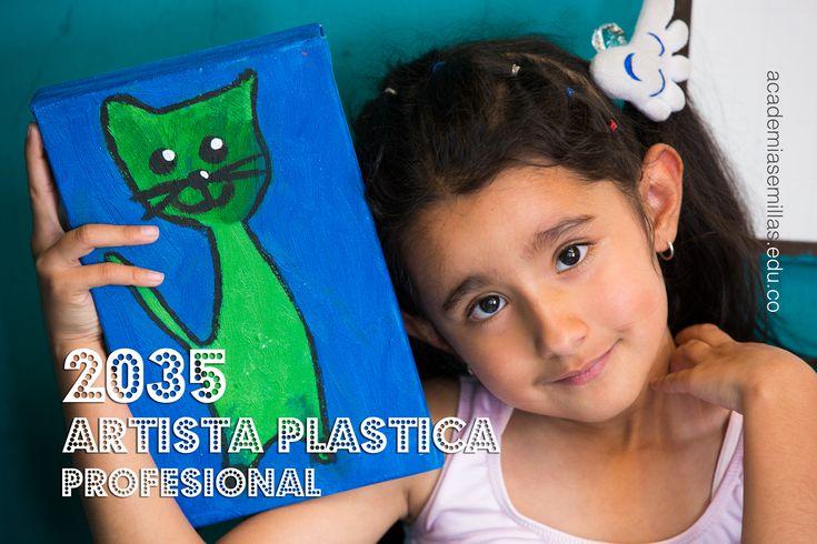 En el 2035 seré una gran artista plástica. Mañana inicio mi carrera. #RegresoAClases https://academiasemillas.edu.co/blog/2018/programa-semestral-sabados-cursos-para-ninos-en-bogota-ballet-piano/Programa-de-Formacion-Semestral-Area-de-Artes-Plasticas-Pintura/  Sedes: Floresta (Nueva): (031) 711-4943 Modelia: (031) 410-6620 Ciudadela: (031) 266-7294