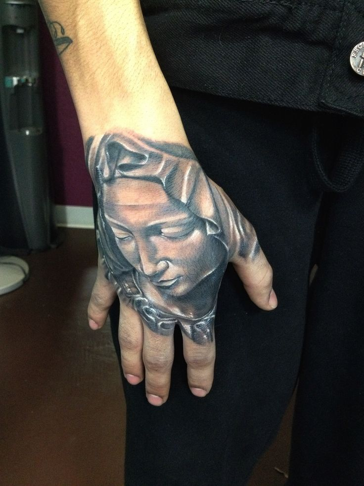 Virgin Mary tattoo Chris Burnett Evangel Ink tattoo ...