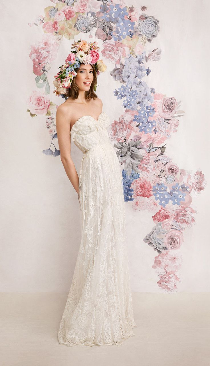 Best wedding dresses for broad shoulders  The  best images about The Dress on Pinterest  Wedding Sleeve