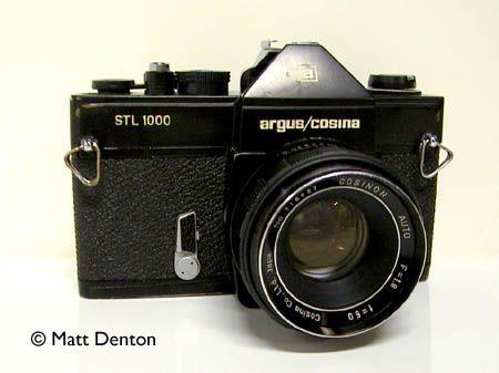 Klasické fotoaparáty Mattův: Argus / Cosina STL 1000