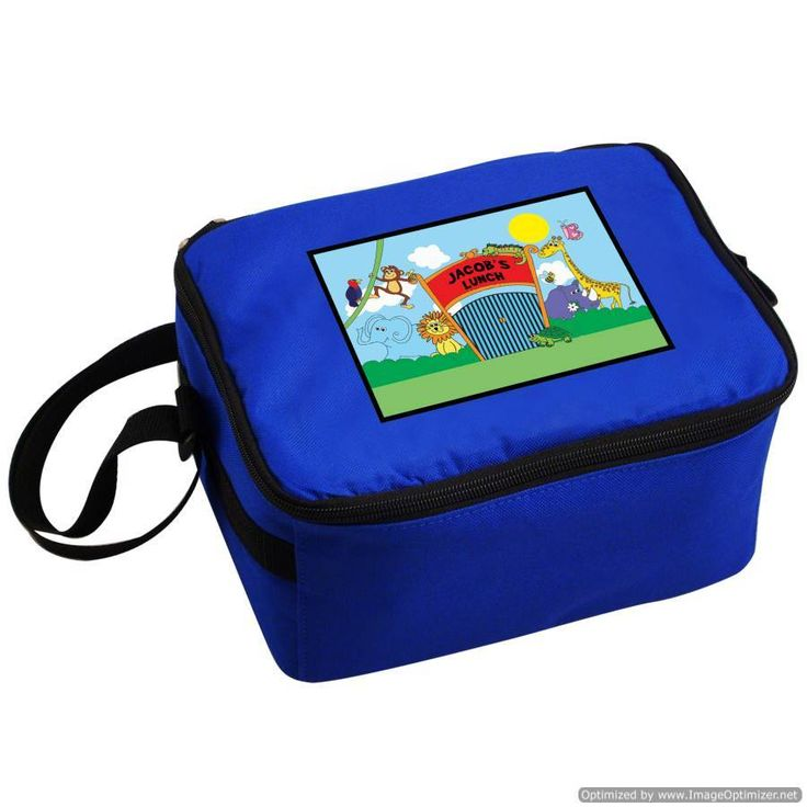 Personal Touch Gifts - Zoo Lunch Bag, £12.99 (http://personaltouchgifts.co.uk/zoo-lunch-bag/)