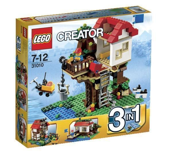 LEGO Lego Creator - Baumhaus - 31010 + Creator - Roter Helikopter - 31003