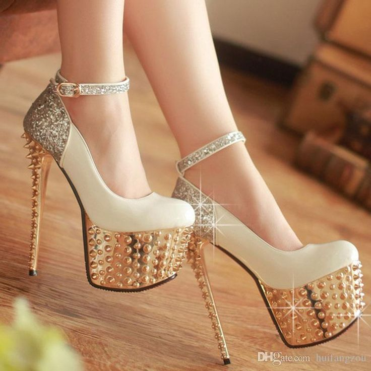 Closed Toe Sequin Stiletto Heel Shoes, how to do this without breaking an  ankle