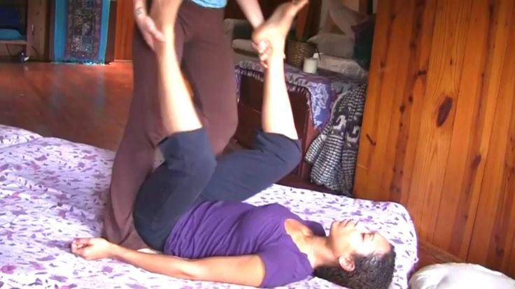 Thai Massage Demo, Full Body Relaxation Massage Therapy -7351