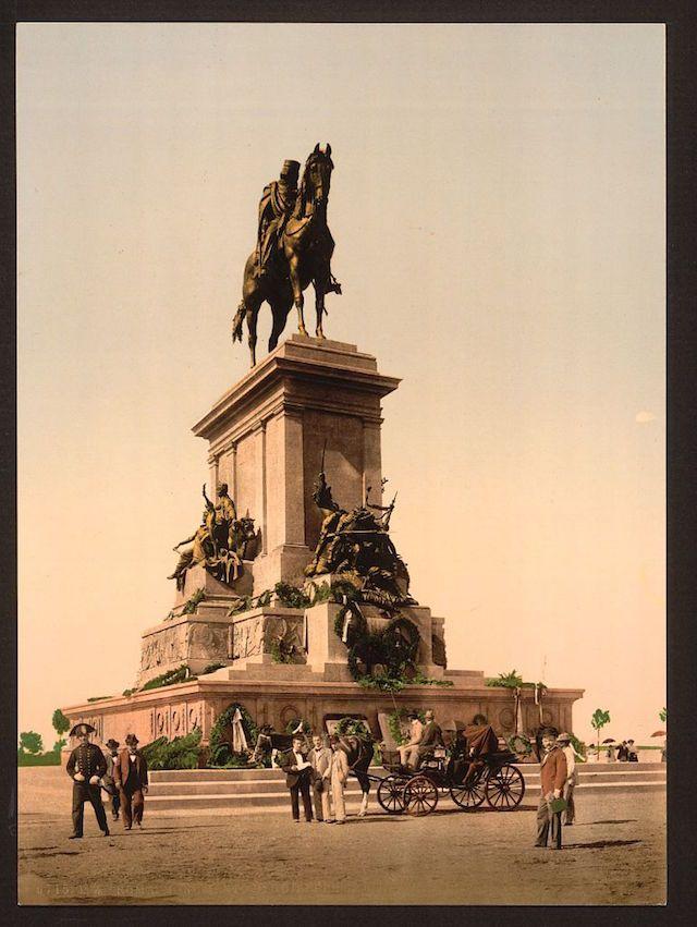 Il Monumento a Giuseppe Garibaldi (Library of Congress)
